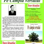 """Invitație! Cenaclul ,,DinOgor"""", """"Pe câmpia versului"""" (Teodor Epure). Lansare de carte, la Vorniceni"""