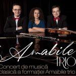 Concert de muzică clasică susţinut de grupul Amabile Trio, la Topliţa