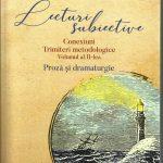 """Lucia-Elena Locusteanu """"Lecturi subiective """"sau fiecare lectură a unei cărți reînoiește textul în imaginația noastră."""