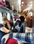 Infernul călătoriilor noastre cu trenul