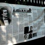 """De la ,,Gazeta de perete"""" la ,,Gazeta de pe gard"""" - o originală idee promovată la rang superior în Iaşul cultural *"""
