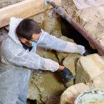Descoperire arheologică de senzaţie în interiorul Bisericii Reformate din Huedin
