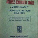 Lupta prin condei pentru libertatea și drepturile norodului moldav -fragment-