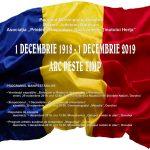 1 Decembrie - Ziua Naţionalã a României cu Prietenii Basarabiei, Bucovinei şi Ţinutului Herţa