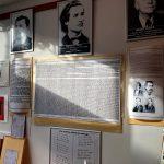 Vernisajul unei expoziții, astăzi de ziua onomasticii Marelui Poet Român, o piatră la temelia Muzeului Scriitoilor Botoșăneni