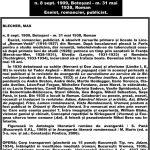 Muzeul Virtual Scriitori Botoșăneni. Secțiune I (1800 - 1944) B (BĂDESCU, IOAN (Ioniță), SCIPIONE; BLECHER, MAX)
