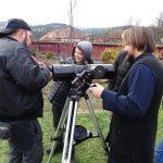 """Curs intensiv """"Ucenici astronomi de weekend. Introducere în astronomie"""" la Centrul Socio-educaţional Călimănel, Topliţa – un proiect deosebit"""