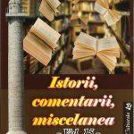 Un panegiric la activitatea de-o viață a scriitorului și jurnalistului Ion N.Oprea