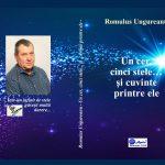 """Cartea botoșăneană. Romulus Ungureanu, """"Un cer, cinci stele... şi cuvinte printre ele"""",Botoșani: Agata - 2020"""