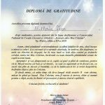 Scriitorul Al.Florin Țene este gratulat cu o Diplomă din partea scriitorilor mureșeni
