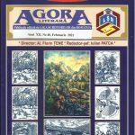 """A apărut revista """"Agora Literară """" nr.40, din februarie 2021, editată de Liga Scriitorilor Români"""