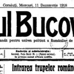 Din presa vremii. Glasul Bucovinei, organ de propagandă pentru unirea politică a românilor de pretutindeni